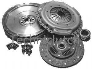 SOLID MASS FLYWHEEL & CLUTCH KIT & BOLTS VW POLO CLASSIC 1.9 TDI